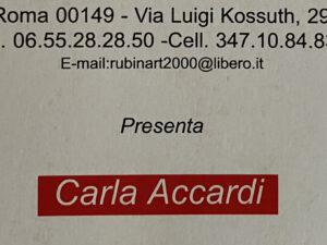 ACCARDI Carla
